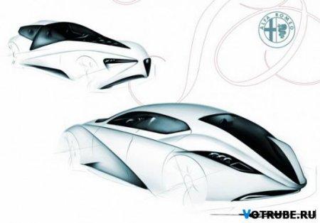 Alfa Romeo FastBack Sedan 2017 concept