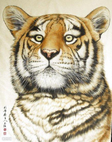 Рисованные тигры
