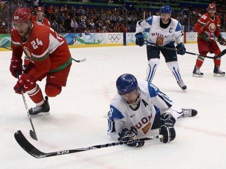 Хоккей. Финляндия уверенно переиграла Беларусь
