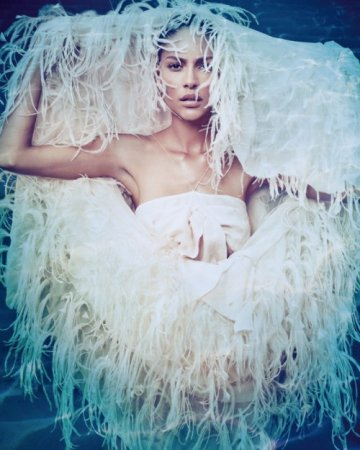 Emanuela de Paula by Jacques Dequeker for Wish Report Brazil February 2010