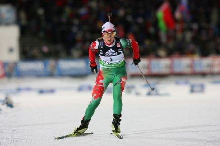 Первую олимпийскую медаль для Беларуси завоевала Дарья Домрачева