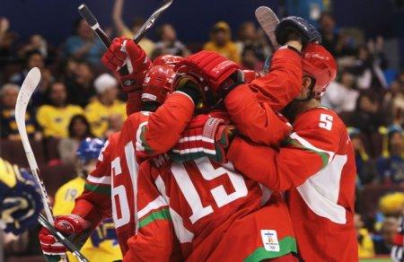 Хоккей: Швеция обыграла Беларусь