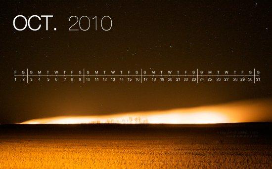 Календарь 2010 на рабочий стол