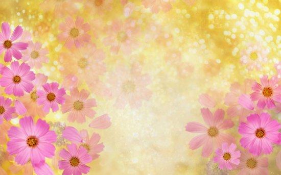 Цветочные обои