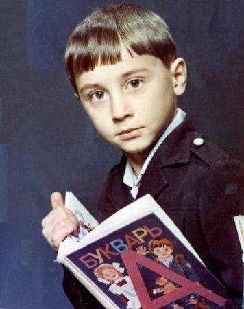 Российские звезды в детстве