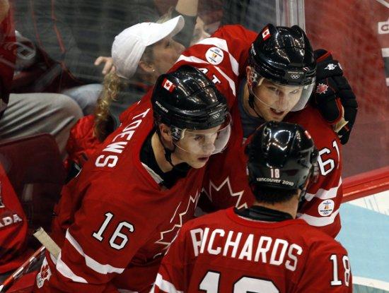 Канадцы разгромили сборную России в четвертьфинале Олимпиады
