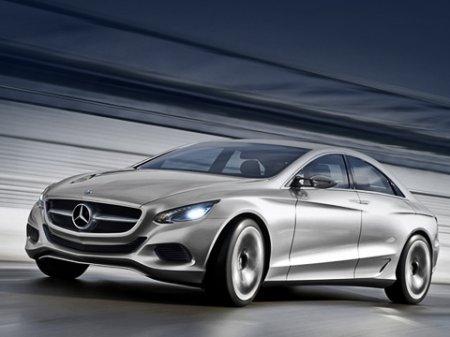 Показан концепт Mercedes F 800 Style на «гибкой» платформе