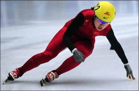 Хуй установила мировой рекорд на Олимпиаде в Ванкувере