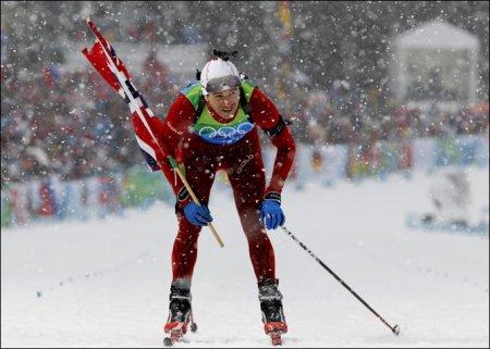 Биатлон. Норвегия выиграла эстафету