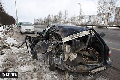 Крупное ДТП произошло в Минске