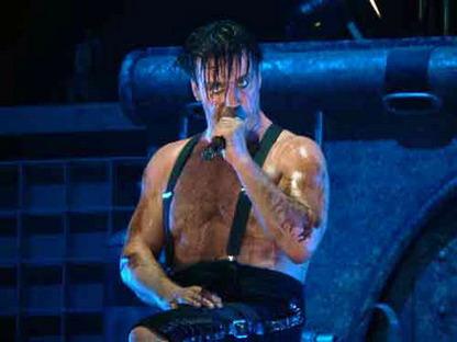 Около одиннадцати тысяч человек пришли на концерт группы Rammstein