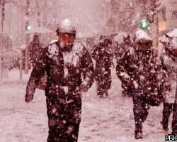 Ставрополь накрыло розовым снегом