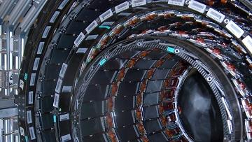 Большой адронный коллайдер может открыть дополнительные измерения