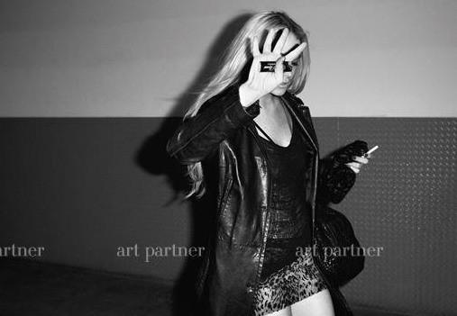 Линдси Лохан в откровенной фотосессии Терри Ричардсона