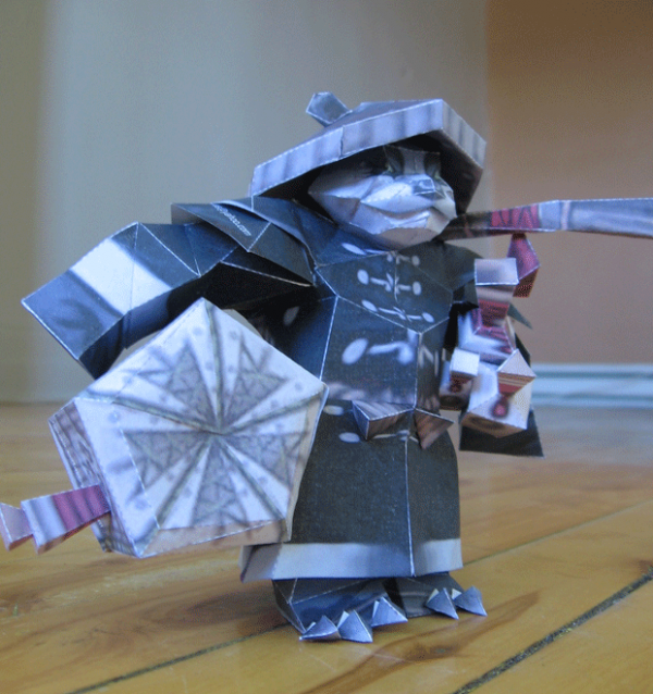 Фигурки warcraft из бумаги