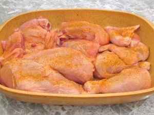 «Пьяная» курица