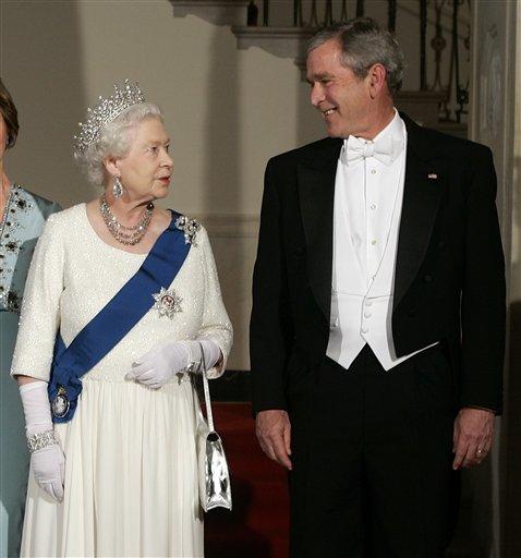Королева и 11 президентов