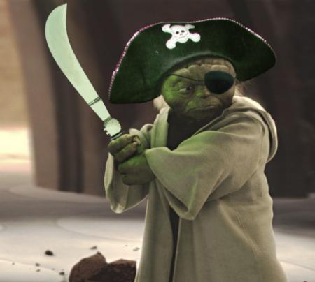 Как пиратские фильмы пиратят