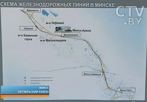 Швейцарцы продали Минску суперсовременные городские электропоезда