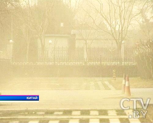 Пекин накрыла небывалая песчаная буря