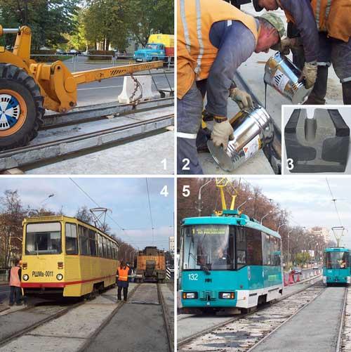 С 1 апреля до 1 декабря трамваи в Серебрянку ходить не будут