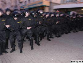 СТВ: Представители оппозиции вышли на улицы Минска, чтобы отпраздновать так называемый День воли