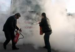"""Взрывоопасное поражение ! В Греции играли два кровных врага """"Панатинаикос"""" и """"Олимпиакос"""""""