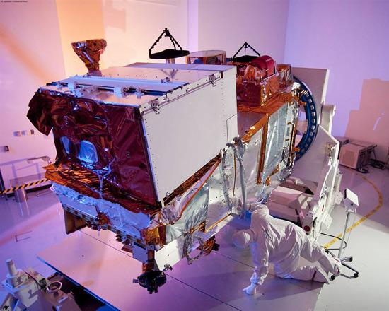 Весна 2010 в космосе