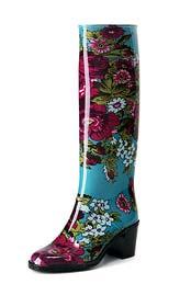 Модные резиновые сапоги 2010