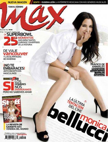 Моника Беллуччи в Max magazine