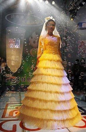 Необычные свадебные платья