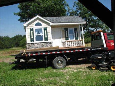 Угадайте, для кого этот домик?