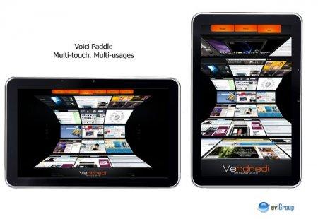 eviGroup Paddle - планшет на базе Windows7