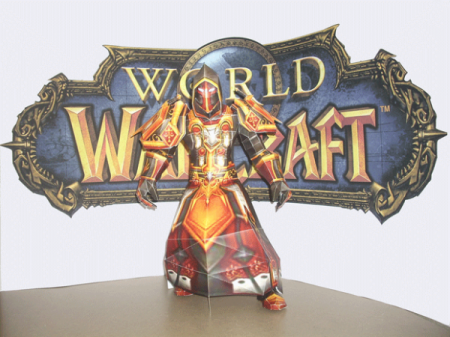 World Of Warcraft из бумаги