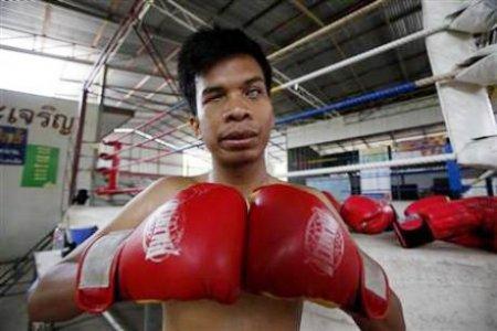 Sujet Salee - чемпион по тайскому боксу среди слепых