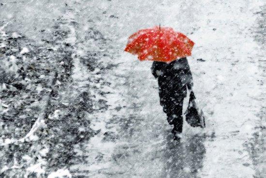Нынче март - зимний месяц