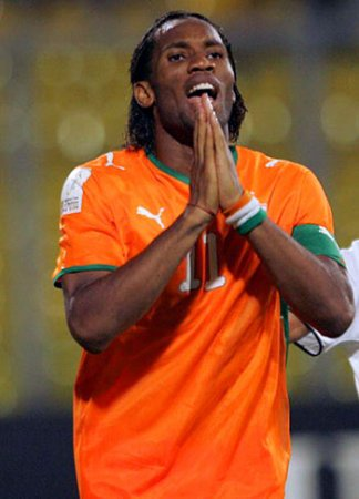 Дидье Дрогба стал лучшим футболистом Африки