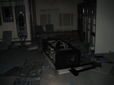 Заброшенное здание Sun Microsystem