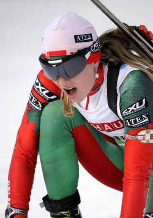 Дарья Домрачева выиграла вторую гонку подряд