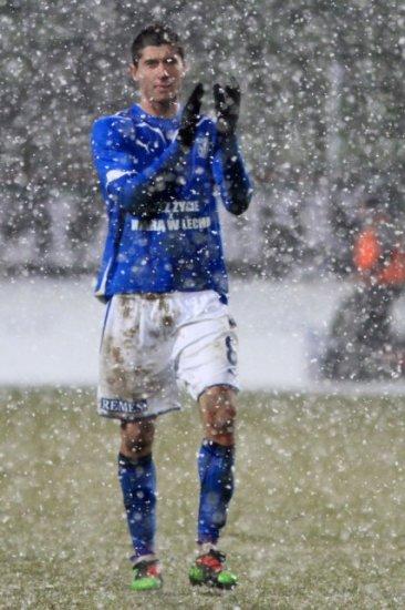2 гола Кривца помогли Леху догнать Вислу