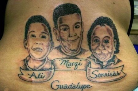Татуировки детей