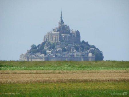 Город-скала Мон-Сен-Мишель