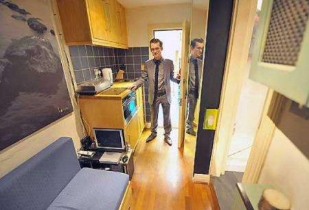 Самая крошечная квартира в Лондоне