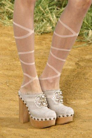 СHANEL Весна-Лето'2010: обувь