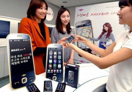Телефон LG MAXX - представлен официально