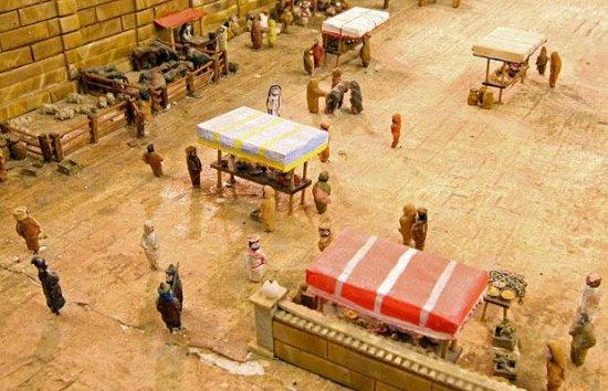 Человек потратил 30 лет своей жизни, создавая модель храма Ирода