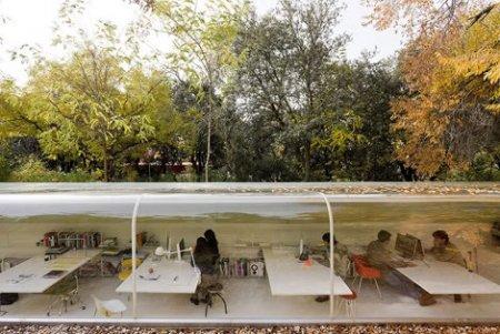Selgas Cano. Лесной офис