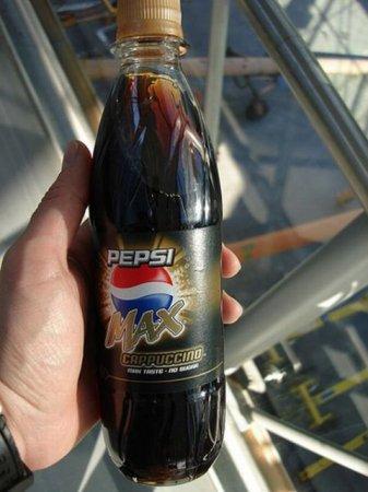 Необычные ароматы и вкусы Pepsi