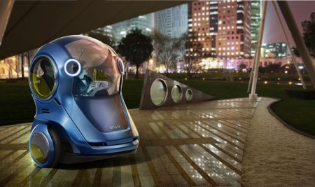GM показал автомобиль будущего