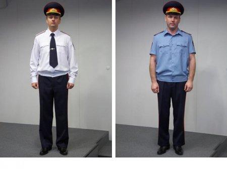 Новая форма российской милиции